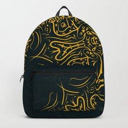 Deep mandala Backpack