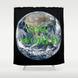One World Shower Curtain