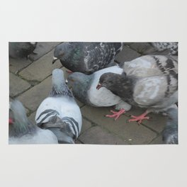 Pigeon Party! Rug
