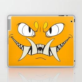 Yellow-Orange Monster Laptop & iPad Skin