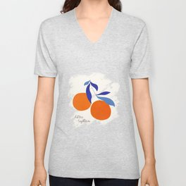 Darling Clementines Better Together Unisex V-Neck