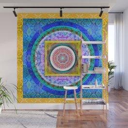 Exquisite Mind Tibetan Inspired HDR Mandala 1 Wall Mural