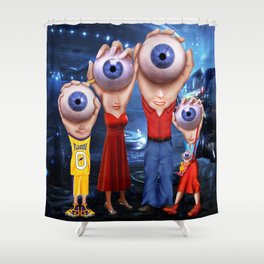 HEM Family Shower Curtain