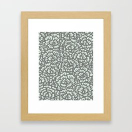 KAOU {ICE+GREY} Framed Art Print