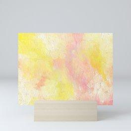 Sunscreen & Petunias  Mini Art Print