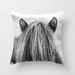 Wild Horse no. 1 Throw Pillow