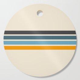 Vintage Retro Stripes Cutting Board