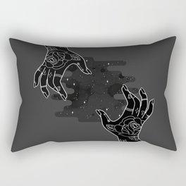 Inverted hands of creation Rectangular Pillow