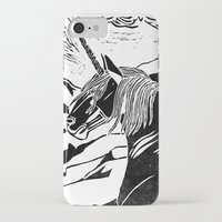 unicorns iPhone & iPod Cases featuring Unicorns by Lily Livingston