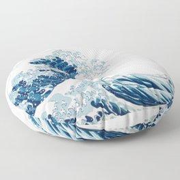 The Great Wave Floor Pillow