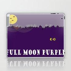 Full Moon Purple Laptop & iPad Skin