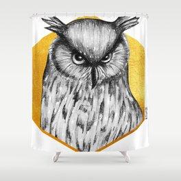 Totem - Eagle Owl Shower Curtain