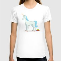 poop T-shirts featuring Unicorn Poop by See Mike Draw