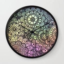 acuarelas Wall Clock