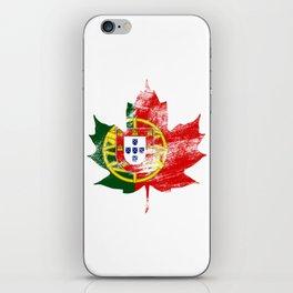 Portugal/Canada iPhone Skin