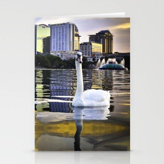 Lake Eola - Orlando, FL Stationery Cards
