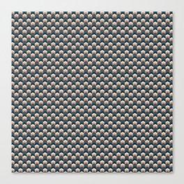 Chevron pattern compact Canvas Print