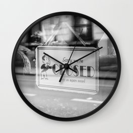 Closed Wall Clock