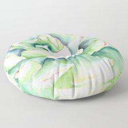 Succulent Plant 1 Floor Pillow