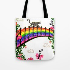 The Rainbow Bridge Tote Bag