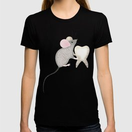 Children Mouse Tooth T-shirt