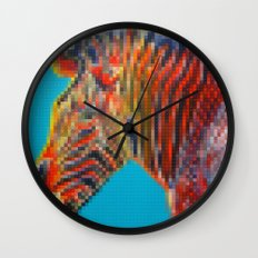 Lego Grevy's Zebra Wall Clock