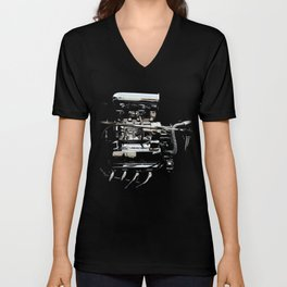 1932 Ford Hot Rod - Engine Unisex V-Neck