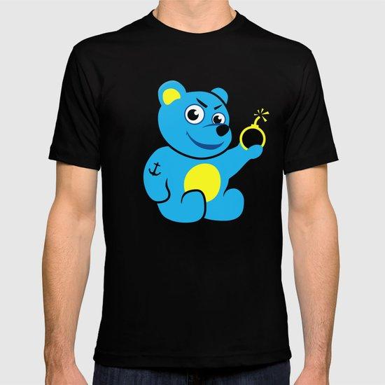 Evil Tattooed Teddy Bear T-shirt