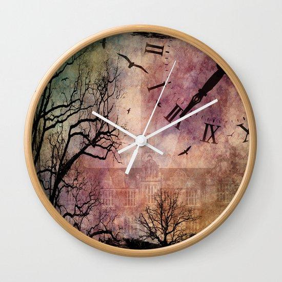 Precious Little Time Wall Clock