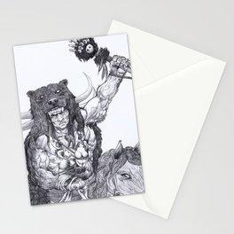 Berserk warrior Stationery Cards