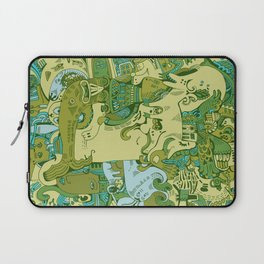Green Town Laptop Sleeve