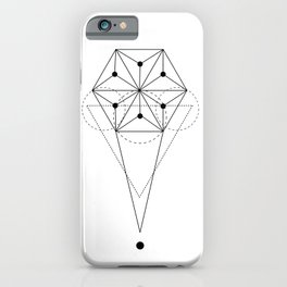 Sacred Hexagon Geometry  iPhone Case