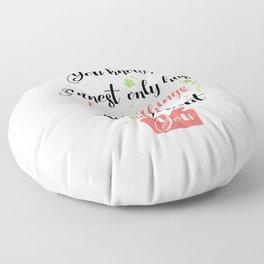 Jess quote - Gilmore Girls Floor Pillow