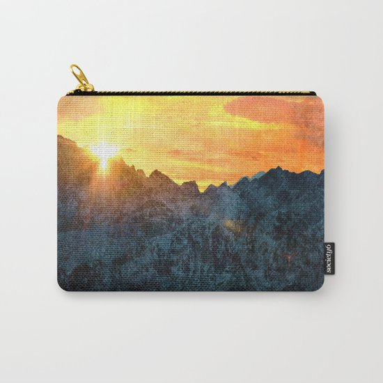 A Moment in Time Carry-All Pouch