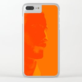 L'homme - flame Clear iPhone Case