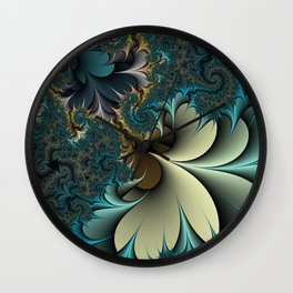 Birds of a Feather Fractal Wall Clock