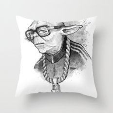 YO DMC Throw Pillow