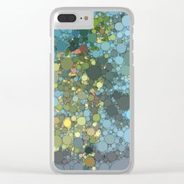 Irma artwork pool water Clear iPhone Case