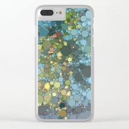 Irma artwork pool water Clear iPhone Case