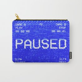 VHS double tape paused Carry-All Pouch