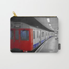 London tube train popped Carry-All Pouch
