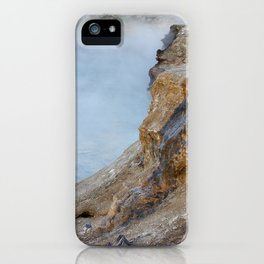 Deep hot spring  iPhone Case