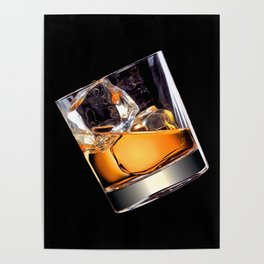 Whisky on the Rocks Poster