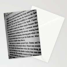 Sharp Objects. Stationery Cards