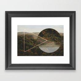 topsy forest Framed Art Print