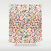 dot Shower Curtains featuring Dot... by DesignsByMarly
