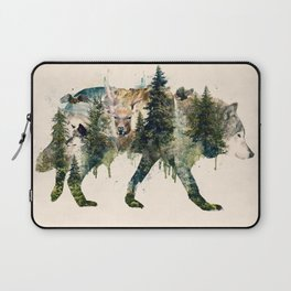 Wolf is the Pride of Nature Laptop Sleeve