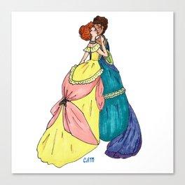 Sapphic Victoriana Canvas Print