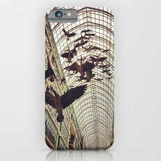 bird christmas shopping iPhone 6s Slim Case