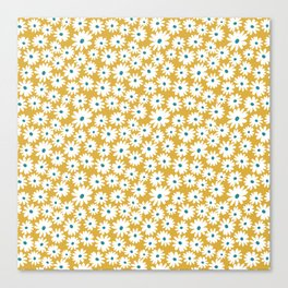 Daisies - Spring - Yellow Canvas Print